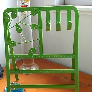VINTAGE EASEL JEWELRY STAND